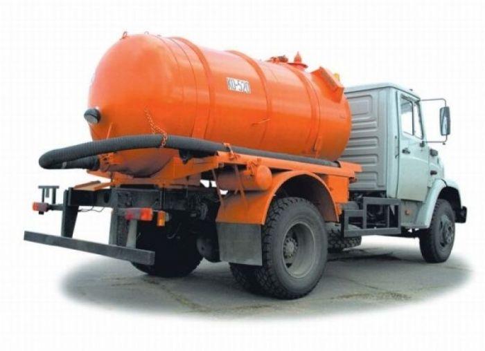 асенизаторные машины для откачки канализации